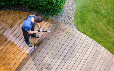 Power Washing For Exterior or Residential Decks