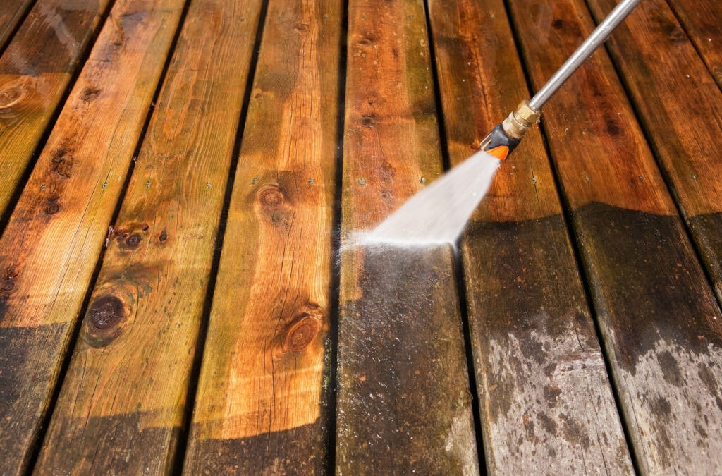 Tips For Cleaning Your Deck Pressure Washing Machine