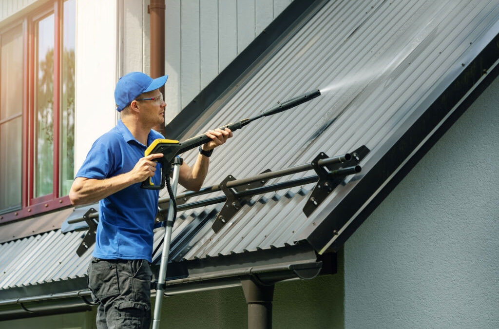 Rooftop and Roof Cleaning